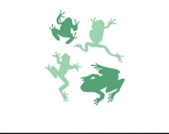 tree frogs svg dxf file instant download stencil silhouette cameo cricut clip art boy nursery animals commercial use