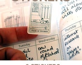 Tarot Deck Sticker Set - 78 Tarot Card Planner Stickers - Tarot Journal Stickers - Includes all 78 cards of the tarot deck