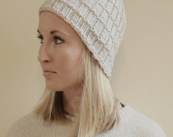 KNITTING PATTERN - Florence Knit Hat Pattern (Child, Young Adult, Adult Sizes)