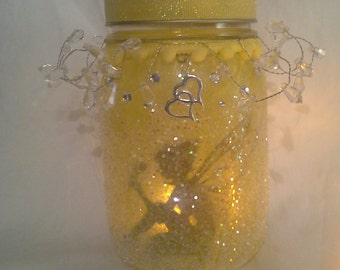 Enchanted fairy// Fairy lantern// Christmas gift// Bridal shower// Wedding decor// Fairy Light// Gift for her// Lightcatcher// Steampunk