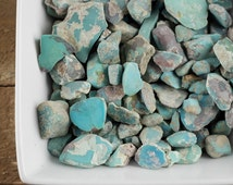 Natural Southwest Turquoise - 10 grams Turquoise Rough Healing stones crystal chakra healing E0053