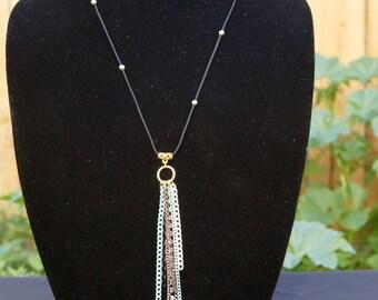 multi-chain pendant necklace