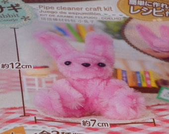 DIY Japanese Pipe Cleaner Craft Kit : Rabit