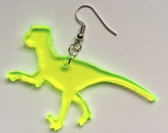 Earrings dinos