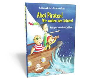 Pirate history ship ahoy pirates! -personalized children's book