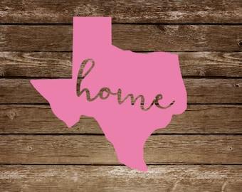 State Home Sticker