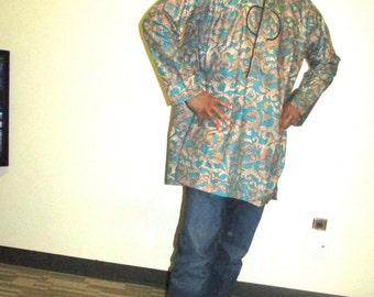Men's ankara Men's dress shirt