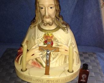 Sacred Heart Jesus Alter/Mass Statue