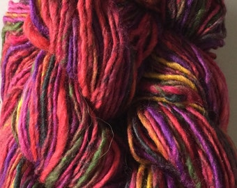 Noro New Ruby Yarn, Lot of 6 Red Pink Cotton blend, Hard to find.