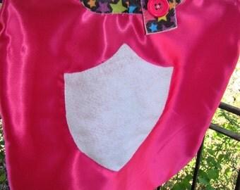 Bright Pink Cape