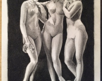 Tres Chariden (three graces) need A PRINT