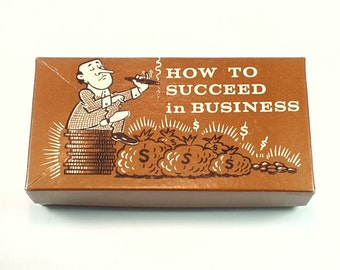 1960s Novelty Gag How to Succeed in Business