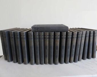 Vintage Rare Encyclopedia set of 20 books, Book of Knowledge, circa 1927