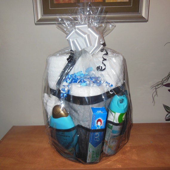 Dorm Bathroom Caddy: Shower Caddy Gift College Dorm Shower Tote By