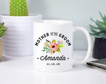 Mother of the groom mug Mother in law gift Bridal party mug Bridal party gift Mother in law mug Wedding mug Wedding gift Coffee mug