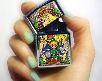 Chrome Lighter unusual lighters  The Legend of Zelda lighter cigarette