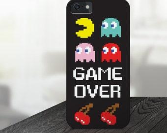 Retro Pacman Case - iPhone 5 Case, iPhone 5C Case, iPhone 5S Case, iPhone 6 Case, iPhone 6s Case, iPhone 6 Plus Case, iPhone 6s Plus Case
