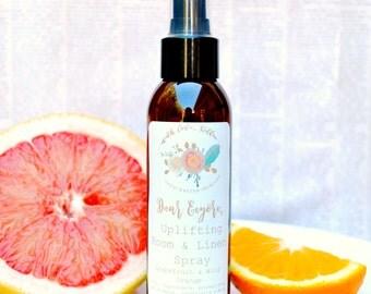 Natural Room Spray - Uplifting - Essential Oil Room Spray - Room Freshener - Aromatherapy Spray - Room Deodorizer - Natural Air Freshener