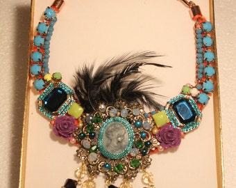 Fantasy beaded necklace