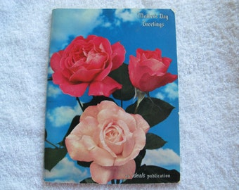 Mother's Day Greetings / Mothers poems and pictures / An Ideals Publications Mother's poems /Van B Hooper