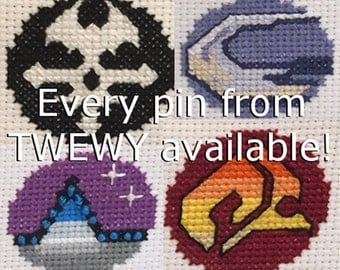 Pattern - Pins from TWEWY