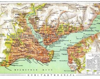 Topograficheskie kartyi .The Byzantine empire The Byzantine Empire , the Eastern Roman Empire Konstanstinopol