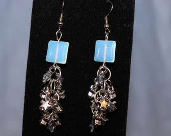 Opalite Starfall Earrings