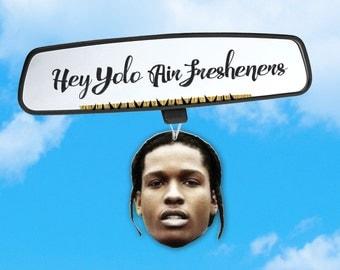 ASAP Rocky Air Freshener - Car Air Freshener - Fresh Scents - Hip Hop Head