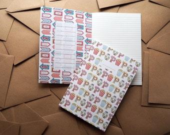 A5 Popcorn Notebook