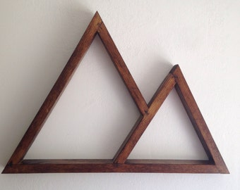 double triangle shelf right
