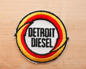 Vintage Detroit Diesel Patch