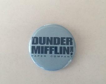 Dunder Mifflin Pinback Button