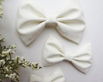 White Ivy Bow-Classic