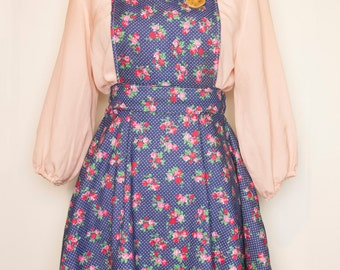 Floral Pinafore with Pockets