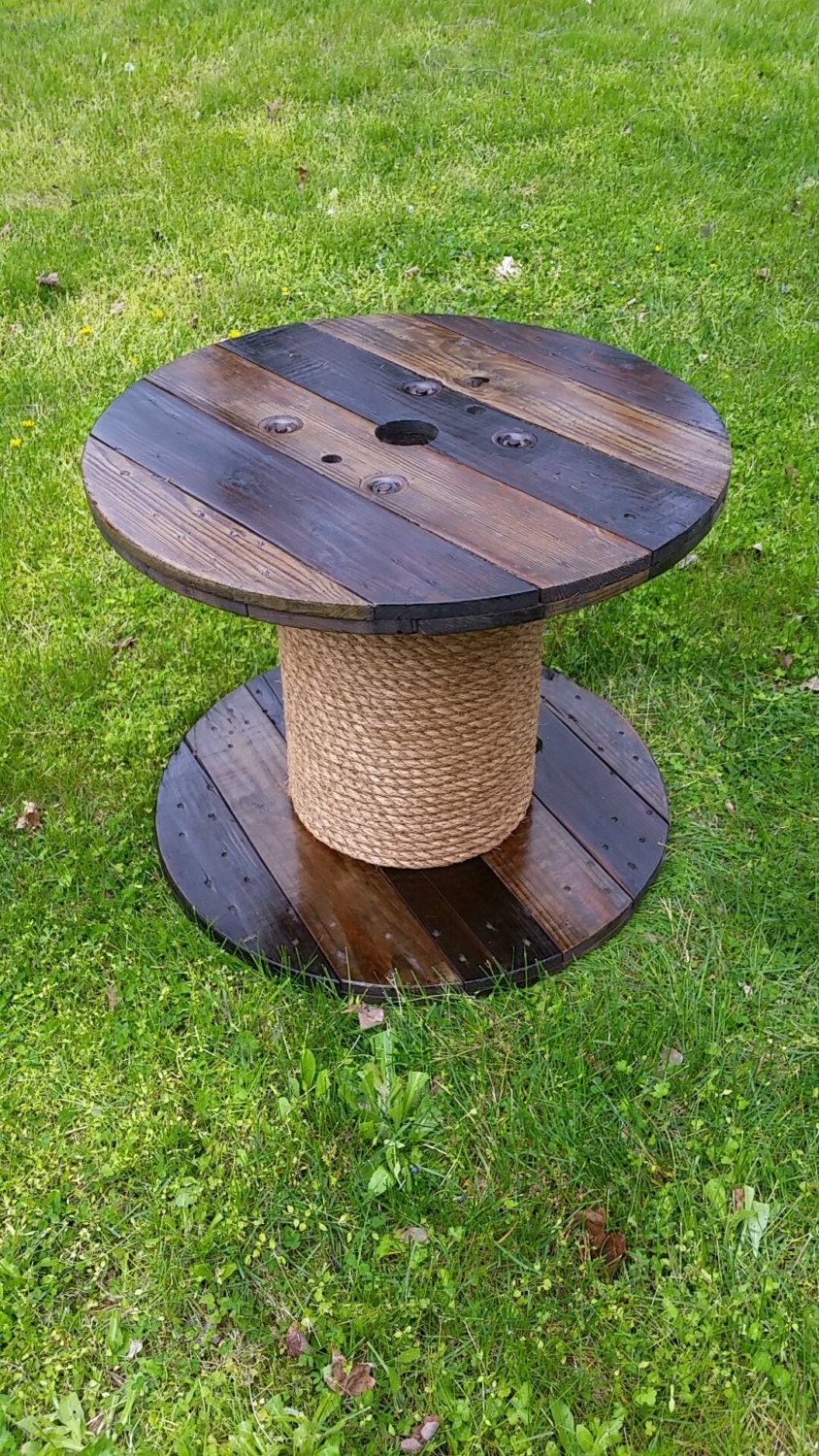 Wooden spool table for Wooden wire spool ideas