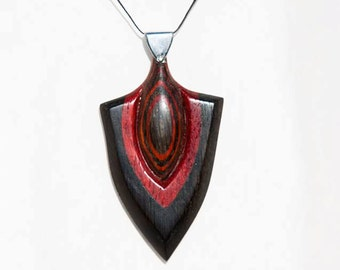 Natural, wooden Pendant