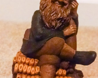 TY 1990 Tom Clark Gnome Figurine Cairn Studio Retired Ed 46  #5127