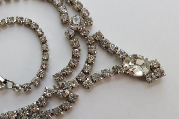 Signed La-rel Vintage Crystal