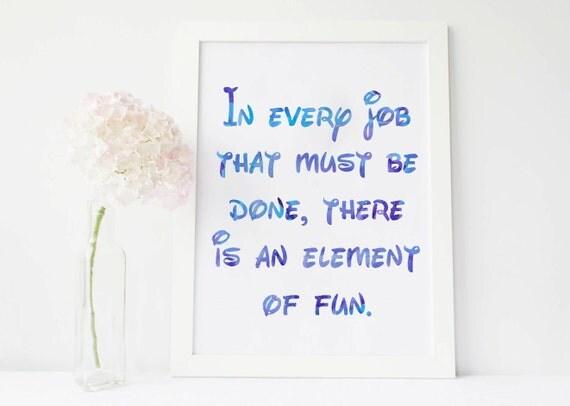 Mary Poppins Quote Disney Quote Disney Printable Quotes Disney