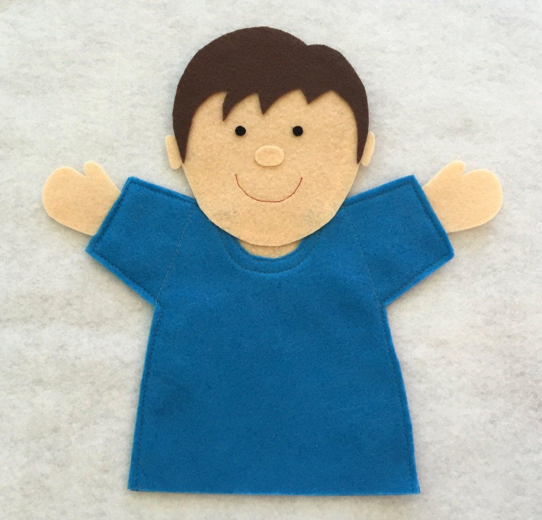 Joy Boy Hand Puppet Pattern Joy School Pdf Full Color