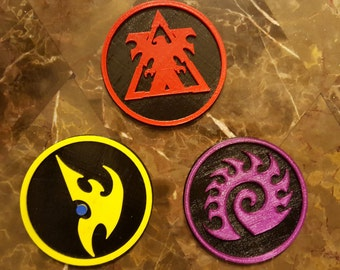 Race Emblem Coasters