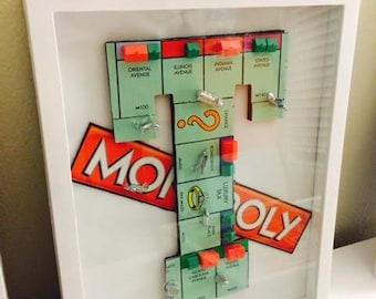 Monopoly Monogrammed Letter