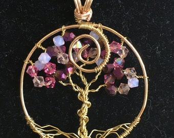 Cherry blossom tree of life