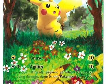 Pikachu - Pokemon Extended Art
