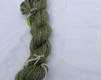 Merino/Tussah Silk 70/30 Multi - Green