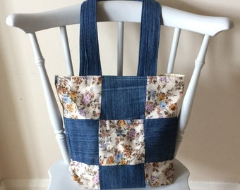 Handmade patchwork bag