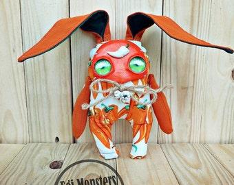 Paprika Bunny Monster Plush Stuffed Toy Gift