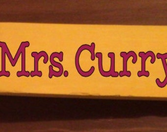 Wooden Pencil Personalized Teacher Gift for BACK TO SCHOOL