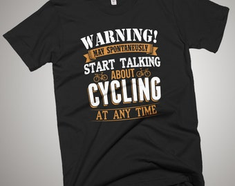 Bicylce Cycling, Mountain Cyclists Bike T-Shirt