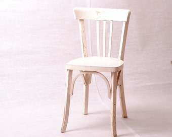 Chair bistro french, Chair vintage, Campaign Chair, chic Chair shabby chic, middle century